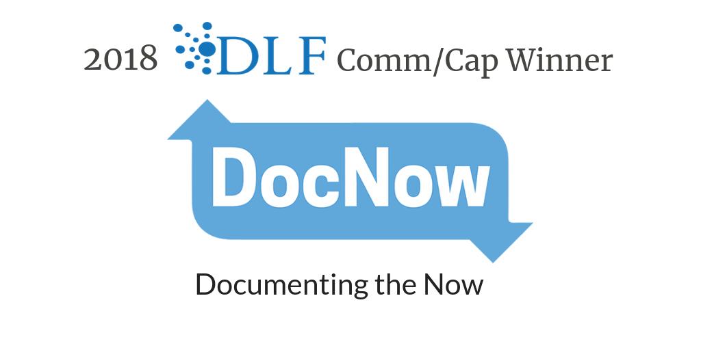 Announcing the 2018 DLF Community/Capacity Award Winner - DLF