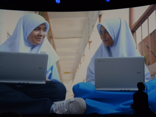 Malaysian Kids using Chromebooks. Image courtesy of TheVerge