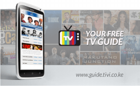 TiVi: TV guide from Kenya