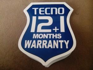 Tecno Warranty