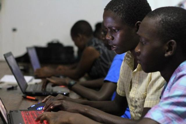 Gamers Nights Gulu Robotics camp