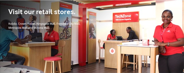 Vodafone UgandaShops