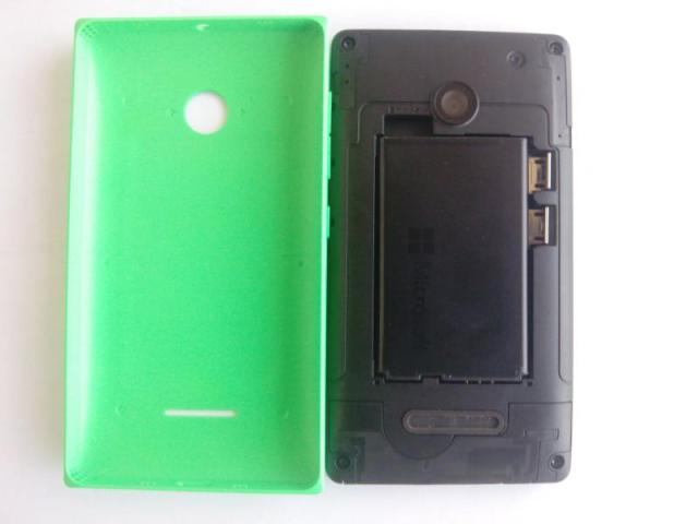 Lumia 435 swappable cover