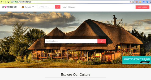spotfinder uganda travel guide