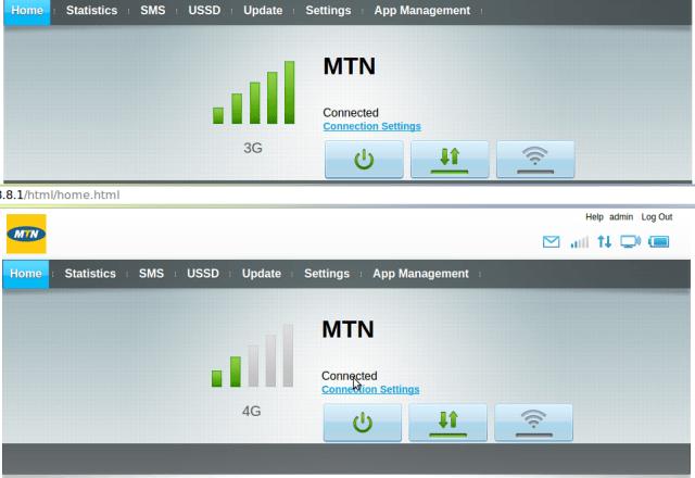 mtn uganda mifi web interface