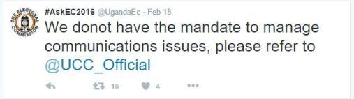 Electoral Commission Denies