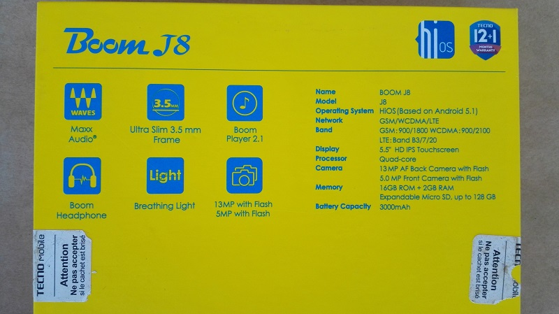 Tecno Boom J8 Review: Good Sound, Performance, Design, the new HiOS