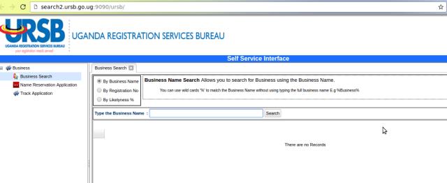 ursb company search engine uganda