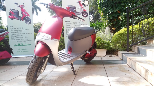 Gogo Electric Motor Bike in Uganda