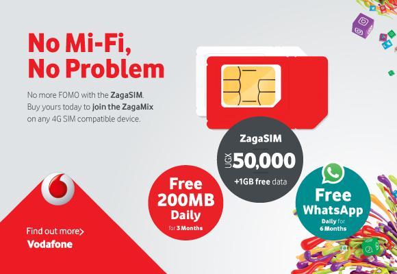 No MiFi? No Problem  You can still enjoy Vodafone Uganda's ZagaLife