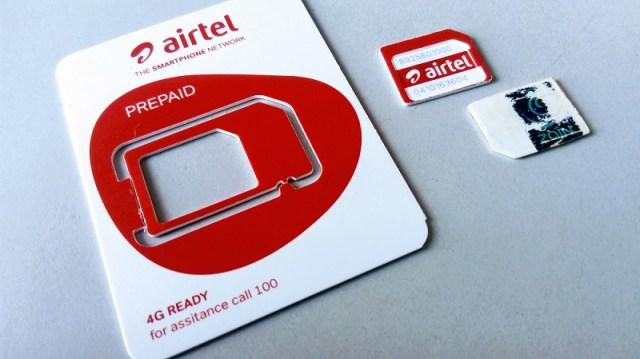 airtel new sim serial number