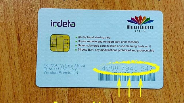 Crack dstv smart card