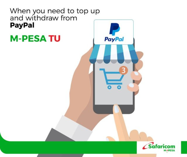 How to link your PayPal account to M-PESA - Dignited
