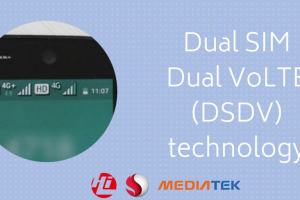 Dual SIM Dual VoLTE will support HD Calls on both your SIM cards