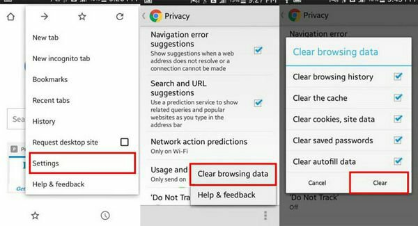 How to clear your browser history on Chrome and Firefox - Dignited