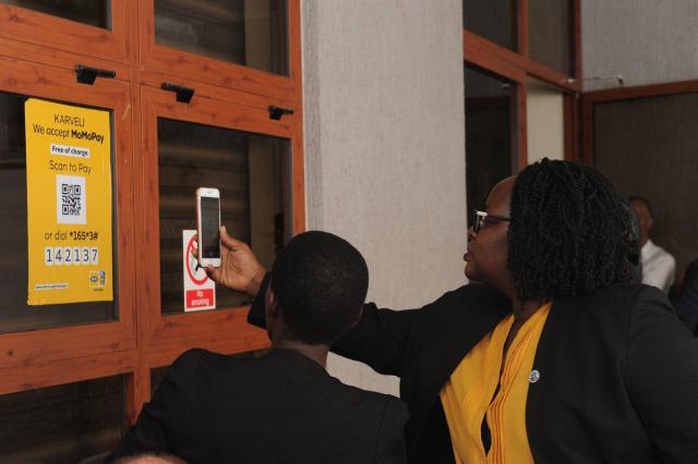 mtn uganda qr code payments