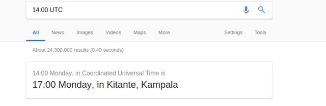 time zone converter Google search