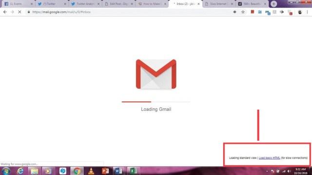 Gmail's Basic HTML view