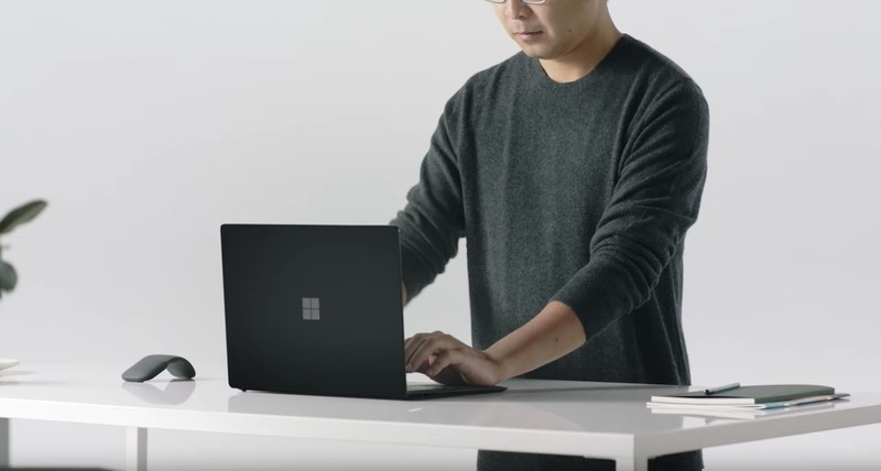 Leak reveals black Surface Laptop and Surface Pro