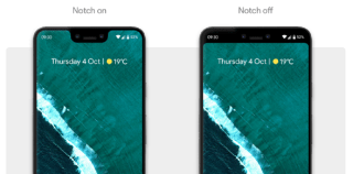 How to Hide Pixel 3 XL Notch