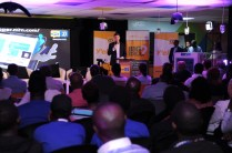 Some of the tech developers that attended the MTN Open API Launch that took place at The Innovation Village in Ntinda