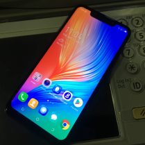 Home screen of the Tecno Camon 11 Pro