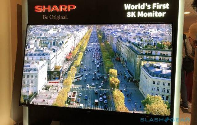 Sharp's Aquos 8K TV