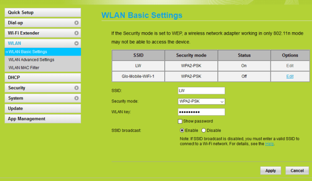 How to hide your WiFi SSID