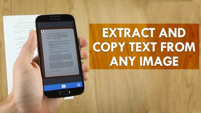 How to Copy Text from an Image on Android - Dignited