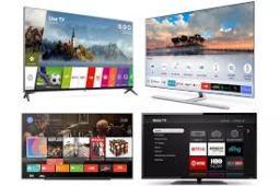 Downloading Apps on LG TV Samsung TV Roku TV