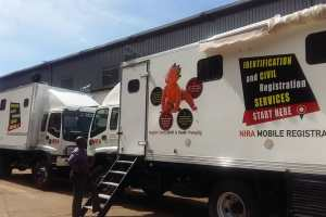 NIRA receives two fully equipped vehicles to support mobile registration