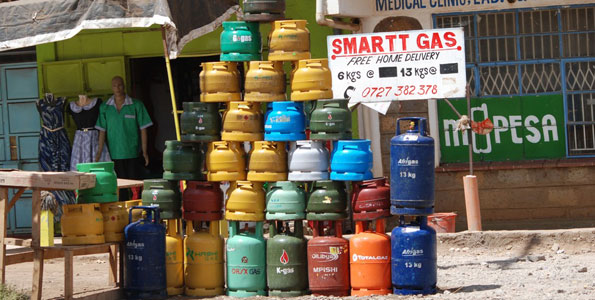 How to order for cooking gas using your phone in Nairobi - Dignited