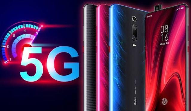5G Redmi and Black Shark smartphone
