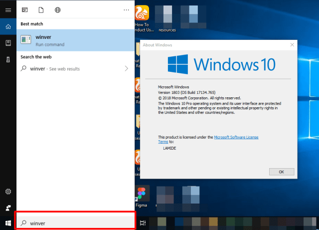 How to check the Windows version of your PC