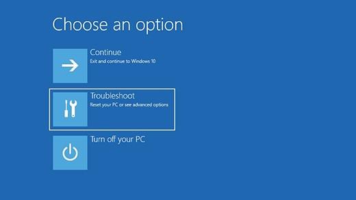 Windows 10 PC Factory reset