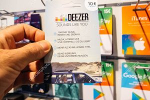 How to Create Deezer Gift Cards