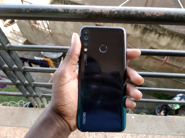 Tecno Camon 12 back