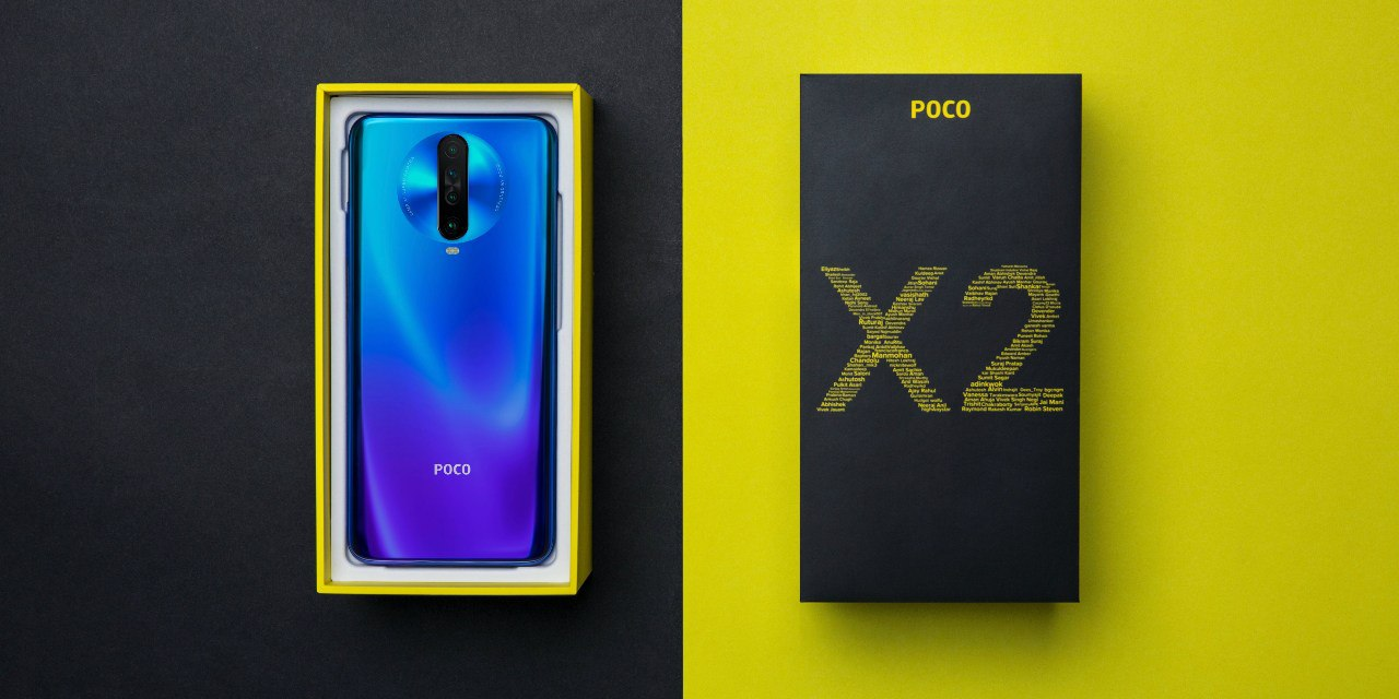 POCO X2, with 120Hz display, launched at Rs. 16,000