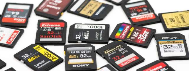 SD card standards