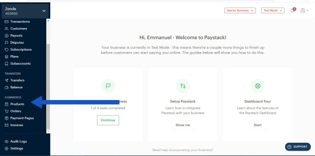 Paystack Commerce