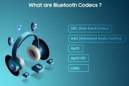 Bluetooth audio codecs