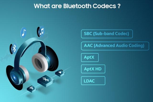 Bluetooth audio codecs