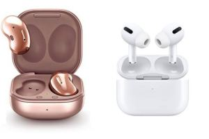 Galaxy Buds Live vs AirPods Pro: Specs Comparison