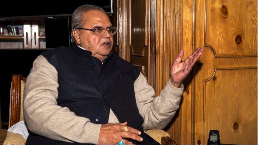 No Need To Panic, Induction Of Forces Only In The Context Of Conducting Election : J&K Governor