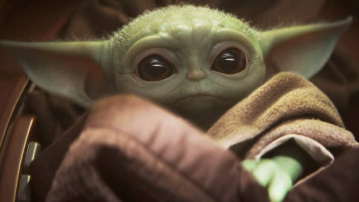 Baby Yoda more loved on social media than Democrats right now