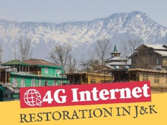 4G Internet to be restored on trial basis in J&K - Kashmir News Digpu