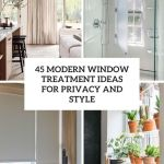 45 Modern Window Treatment Ideas For Privacy And Style Digsdigs