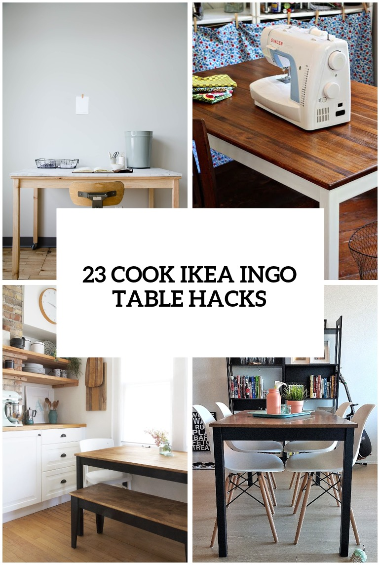 23 Cool Ikea Ingo Table Ideas And Hacks Youll Love Digsdigs