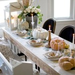 55 Beautiful Thanksgiving Table Decor Ideas