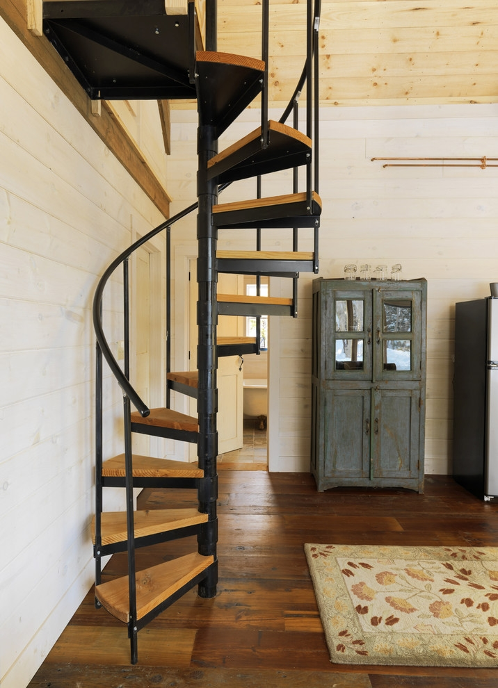 35 Really Cool Space Saving Staircase Designs Digsdigs | Creative Stairs For Small Spaces | Build In Storage | Compact | Interior | Round Shape | Wooden